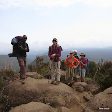 Photo: Getting above tree line after lunch on our second day.