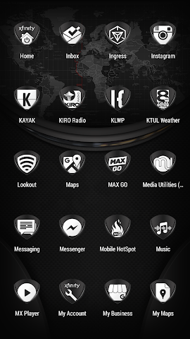 android Tuck It W - Icon Pack Screenshot 3