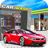 New Car Wash Station 3D