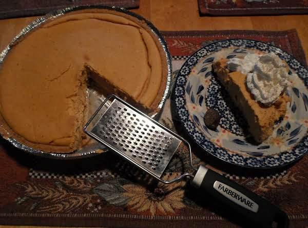 Fluffy Pumpkin Cheesecake Pie