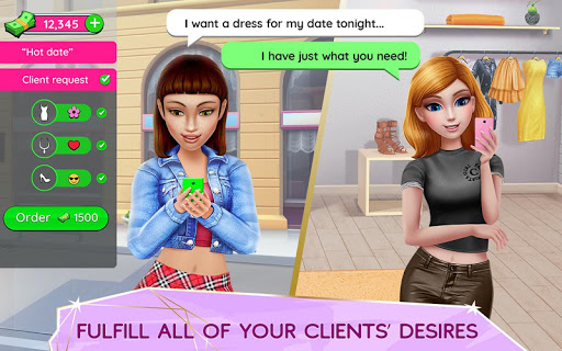 Screenshot for Super Stylist - Dress Up & Style Fashion Guru in United States Play Store