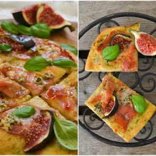 Pizza with Figs & Blue Cheese