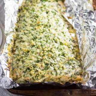 Parmesan Garlic Herb Salmon.