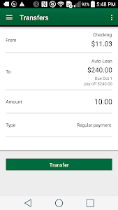 Alliance Bank screenshot 2