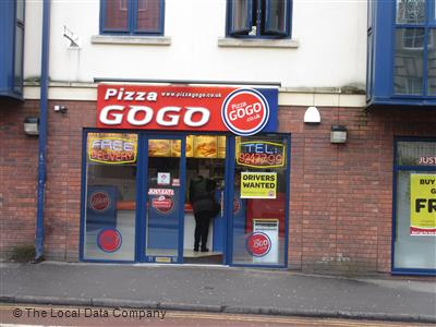 Pizza Go Go On Dighton Street Pizza Takeaway In Bristol