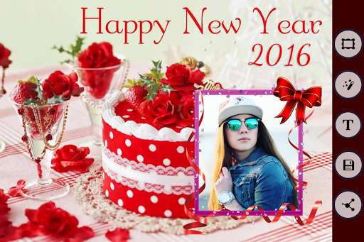 New Year Photo Frames - 2016