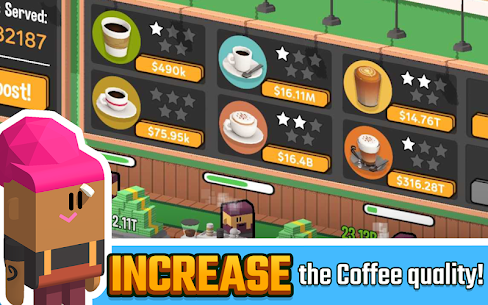 Idle Coffee Corp Download free Android Apk 10