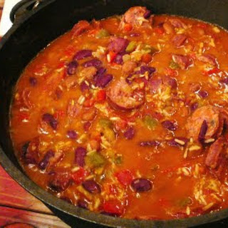 Campfire Red Beans & Rice.