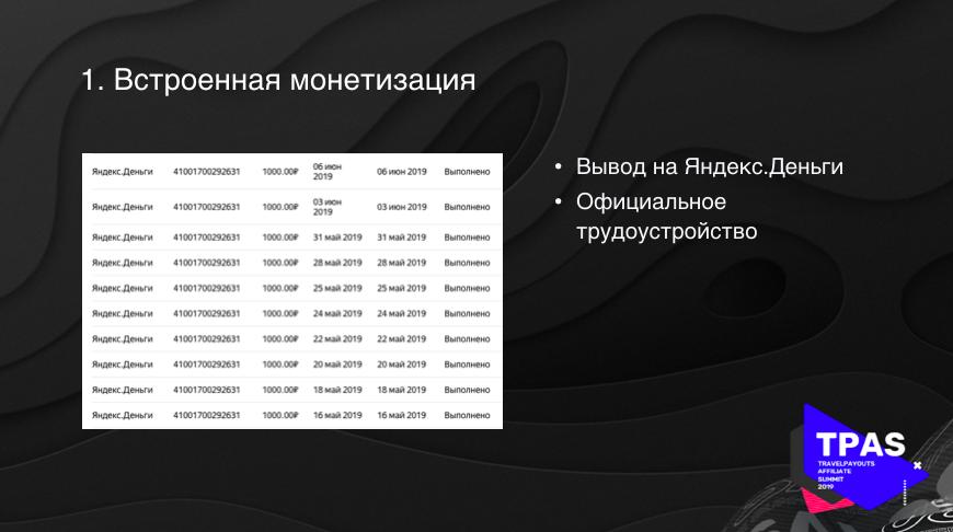 Встроенная монетизация на Яндекс Дзене