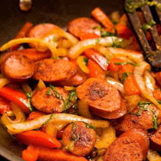 Smoked Sausage And Bell Peppers (weight Watchers Recipe)