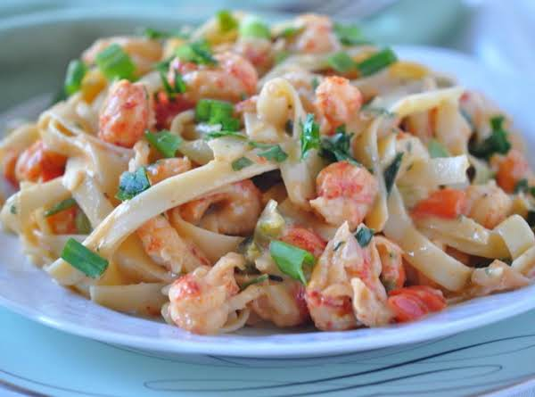 Crawfish Fettuccine Recipe