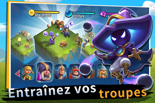 Castle Clash: Nouvelle aube  captures d'u00e9cran 2