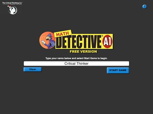 Math Detective® A1 Free