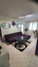 Appartement meublé 2 pièces 40,95 m2