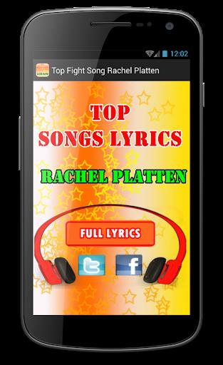 Top Fight Song Rachel Platten