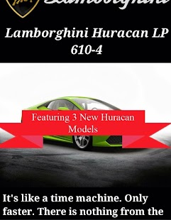 World of Lamborghini- screenshot thumbnail