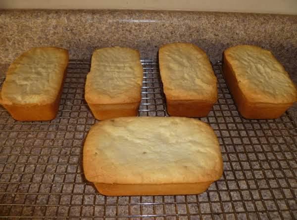 Mini Cream Cheese Pound Cakes Recipe
