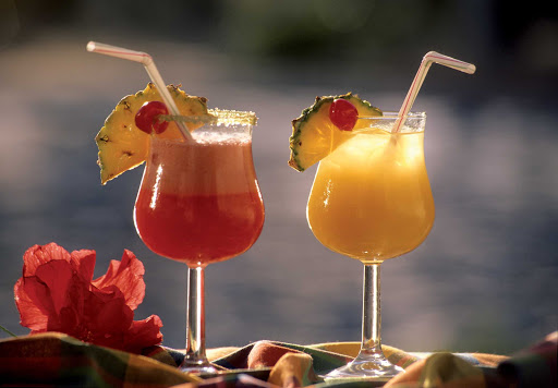 "Guadeloupe-cocktails.jpg - Relax on Basse-Terre, Guadeloupe, with a cold ""Planteur"" cocktail."
