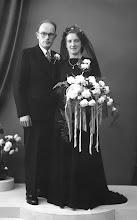 Photo: 6-11-1951 Klaas en Jaantje van Wingerden Romeijn