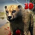 Cheetah Game 3D - Safari Animal Simulator icon