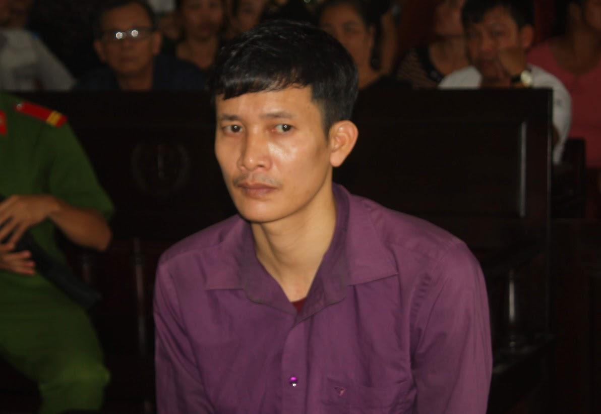 Bị cáo Nguyễn Ngọc Ích tại phiên tòa