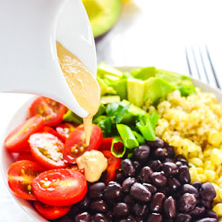 Quinoa Salad with Oil-Free Chipotle Ranch Dressing Recipe