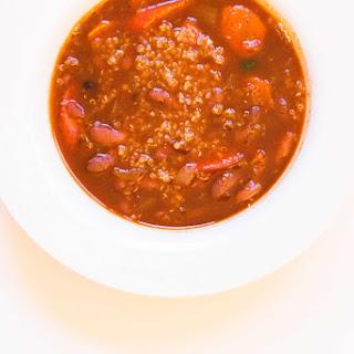 Vegan Quinoa And Red Bean Chili