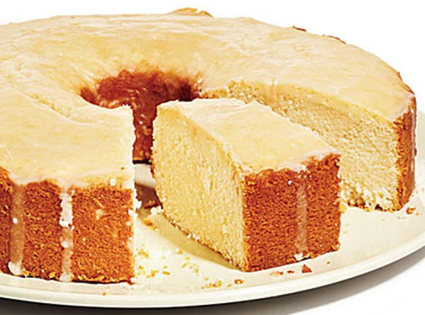 Grapefruit Pound Cake Recipe