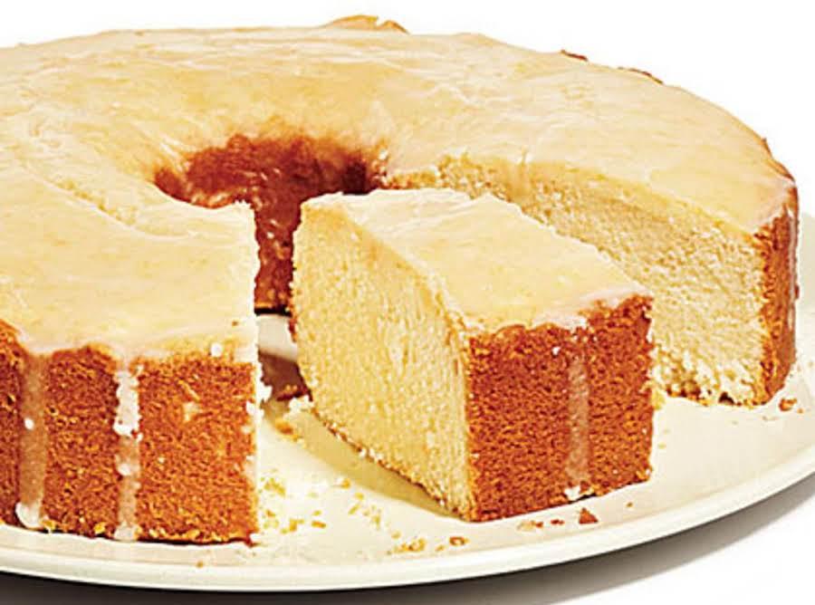 Easy Grapefruit Pound Cake