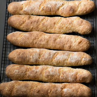 Crusty French Baguettes 4 Hour Recipe – No Starter Necessary.