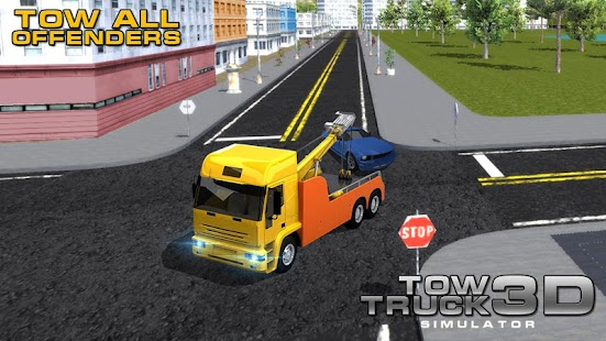 Simulator Tow Truck 3D - náhled