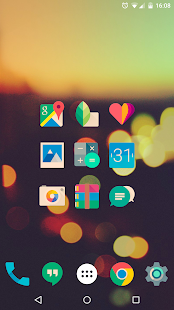 Iride UI is Hipster Icon Pack Screenshot