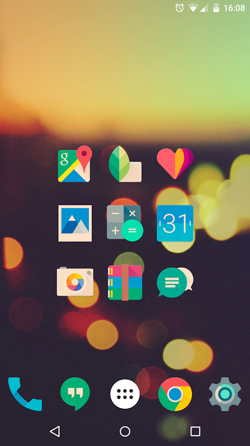 Iride UI is Hipster Icon Pack- screenshot