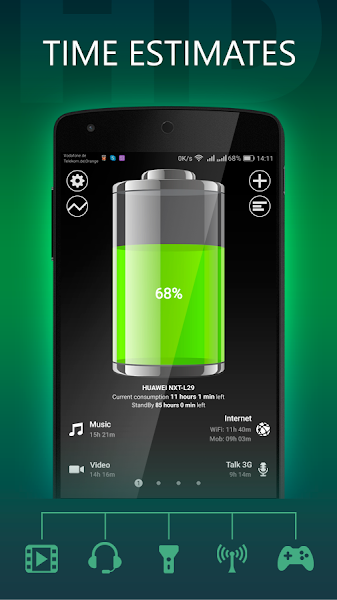 Battery HD Pro Screenshot Image