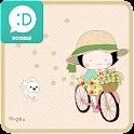 옥철이(봄바람) 카카오톡 테마 icon