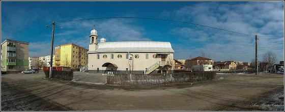 """Photo: Str. Panseluțelor - Biserica Ortodoxă """"Inăltarea Sfintei Cruci"""" - Capela I si II - 2017.01.28 - 2017.01.28"""