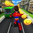 Subway Superhero Run