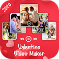 Valentine video maker with music, Love video maker APK