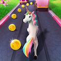 Unicorn Runner 2021: Running Game. Magic Adventure icon