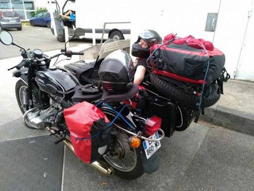 Russie à moto