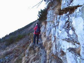 Photo: 12.Akademicka Perć - trawers przy skałach.  Kisiel ostro foci.