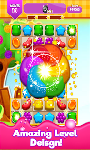 Candy Gummy Match 3 2017 for PC-Windows 7,8,10 and Mac apk screenshot 2