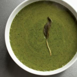 Green Soup with Yams & Sage