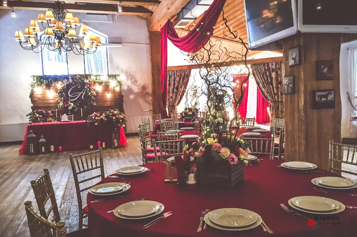Фото №9 зала Банкетный зал ресторана «Клюква в сахаре»