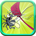 crush mosquitoes - free game icon