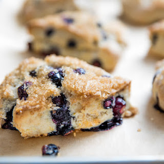 Blueberry-Lemon Scones.