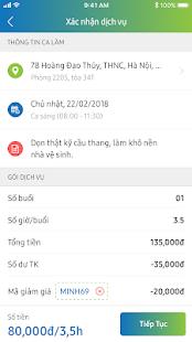Download JupViec.vn: Giúp việc theo giờ For PC Windows and Mac apk screenshot 4