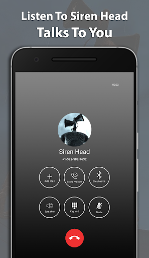 Best Scary Siren Head Fake Chat And Video Call screenshot 3