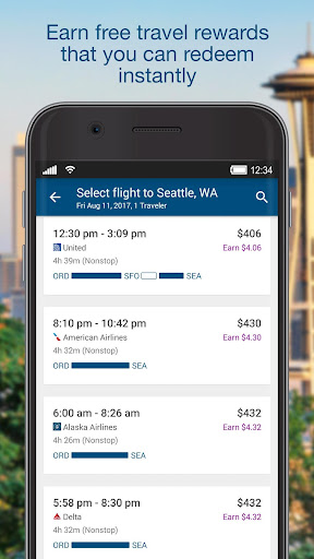 Orbitz - Flights, Hotels, Cars Screenshot