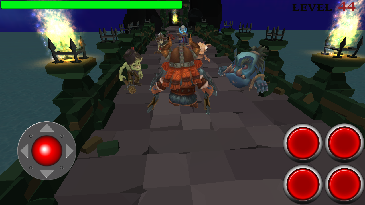 Viking adventure : epic battles- screenshot